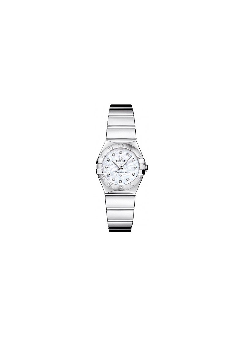 Omega Constellation Polished Quartz