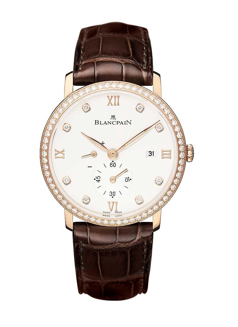 Blancpain Villeret Ultra-Slim in Rose Gold Bezel