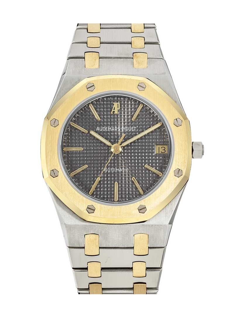 Audemars Piguet Royal Oak 36mm Automatic in Steel and Yellow Gold Bezel