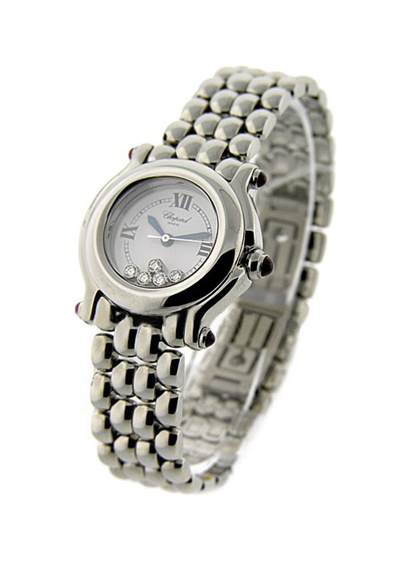Chopard Happy Sport Round -Medium Size in Steel