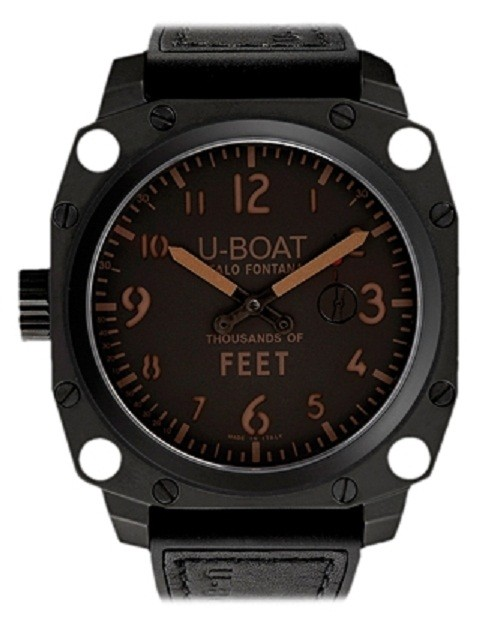 U-Boat Thousands of Feet MB 50mm in PVD Steel