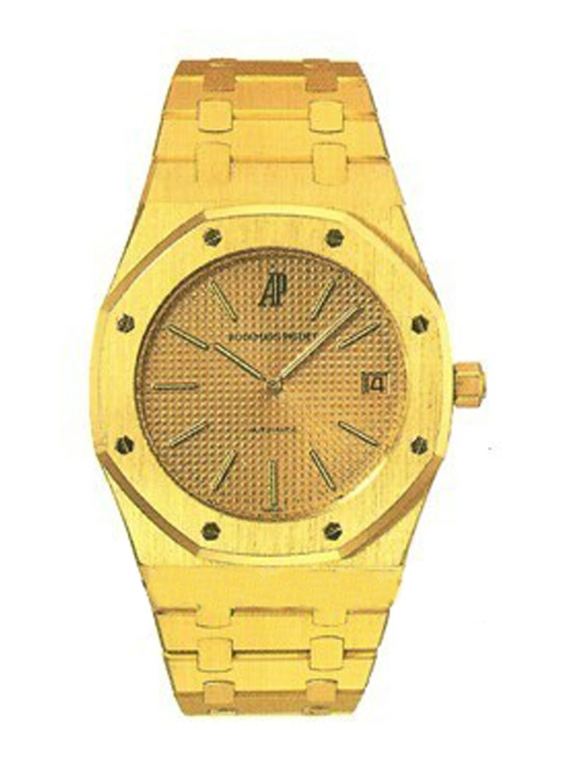 Audemars Piguet Royal Oak Automatic Jumbo Automatic in Yellow Gold