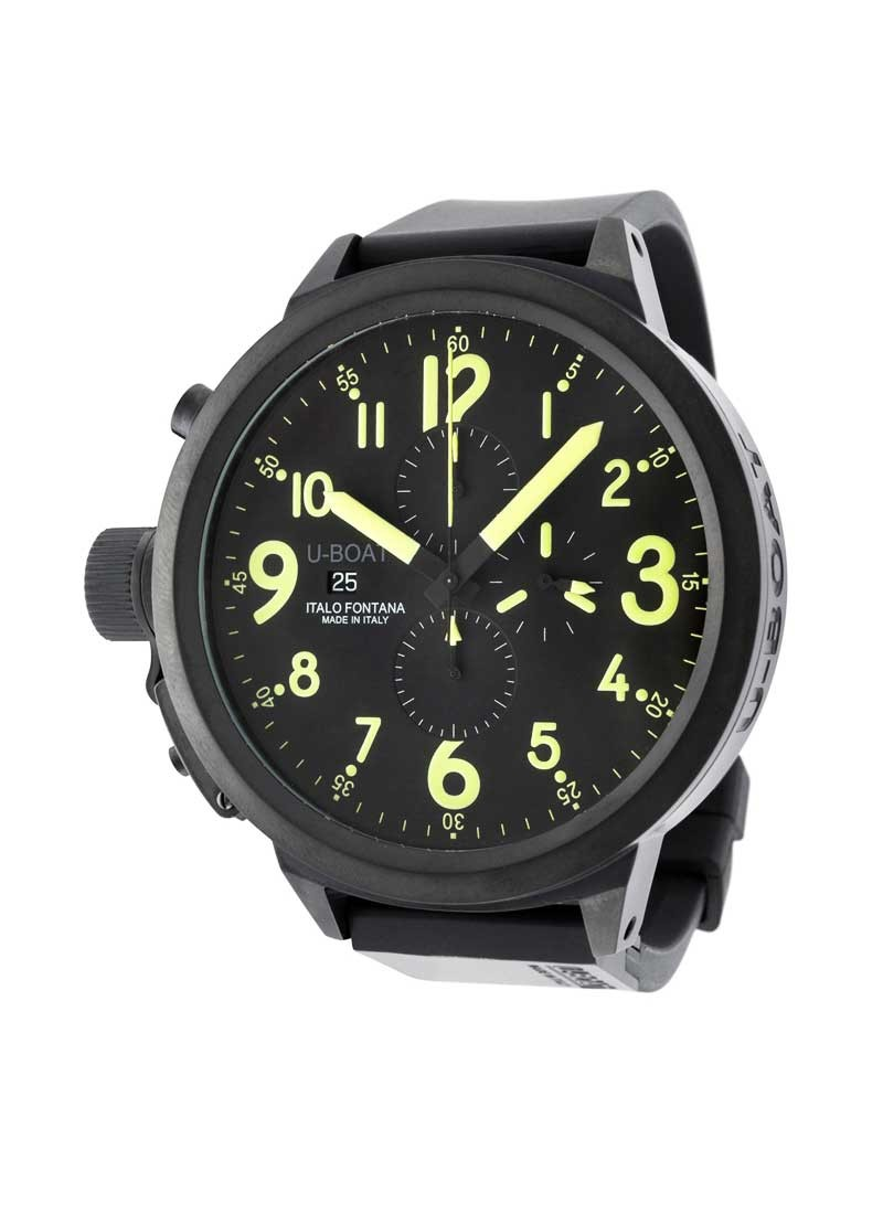 U-Boat FlightDeck 55mm Chronograph  in Steel