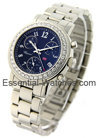 Chopard  Lady's Mille Miglia Chronograph with Diamond Bezel