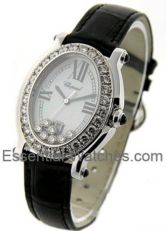 Chopard Happy Sport Oval with Diamond Bezel