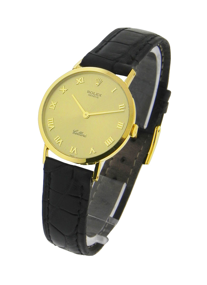 Pre-Owned Rolex Classic Cellini - 32mm - Yellow Gold