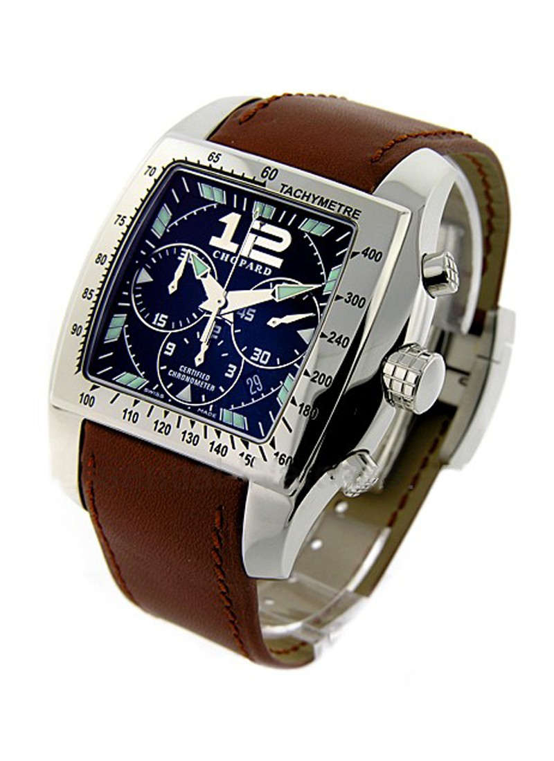 Chopard Men's Tycoon Two O Ten Chrono Large Size in Steel