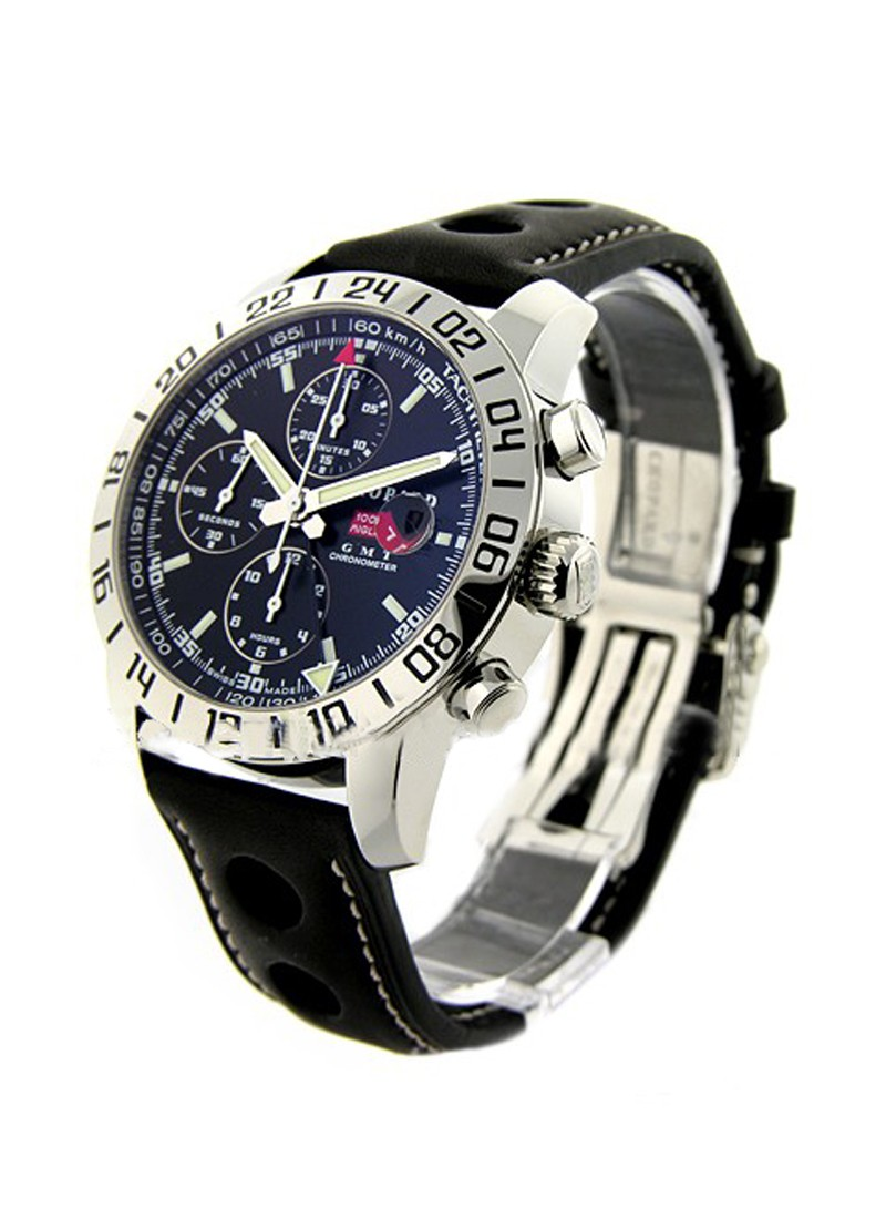 Chopard Mille Miglia Chronograph GMT Mens Automatic in Steel