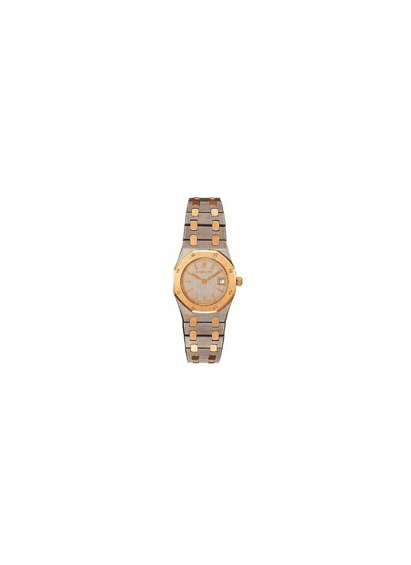 Audemars Piguet Royal Oak Ladies Quartz in Steel and Rose Gold