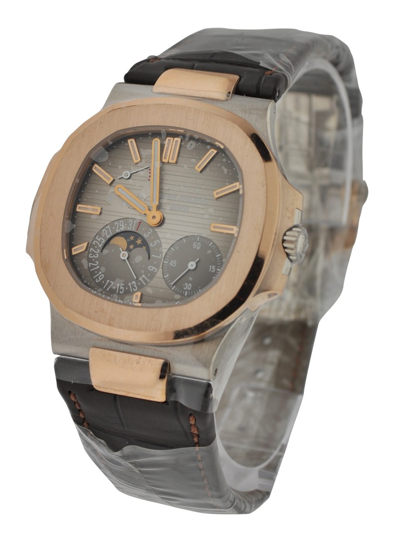 Patek Philippe Nautilus 5712GR   White and Rose Gold