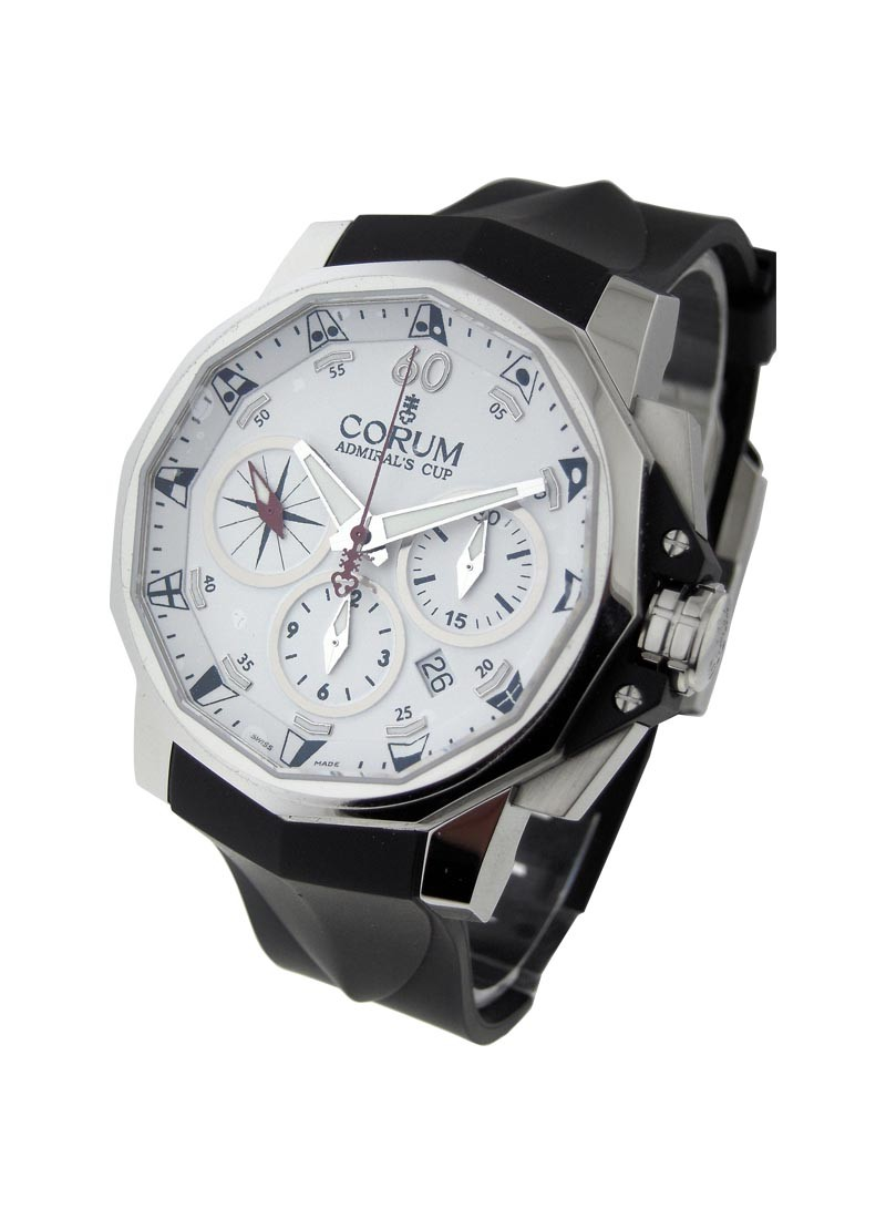 Corum Admirals Cup Challenge 44mm Split Chronograph in Steel
