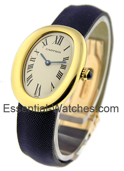 Cartier Baignoire Quartz in Yellow Gold