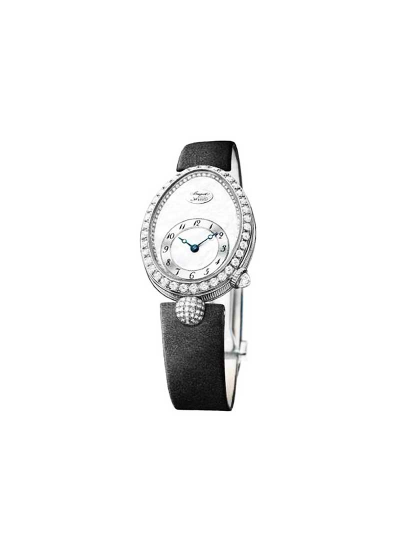 Breguet Reine de Naples - in White Gold with Diamond Bezel