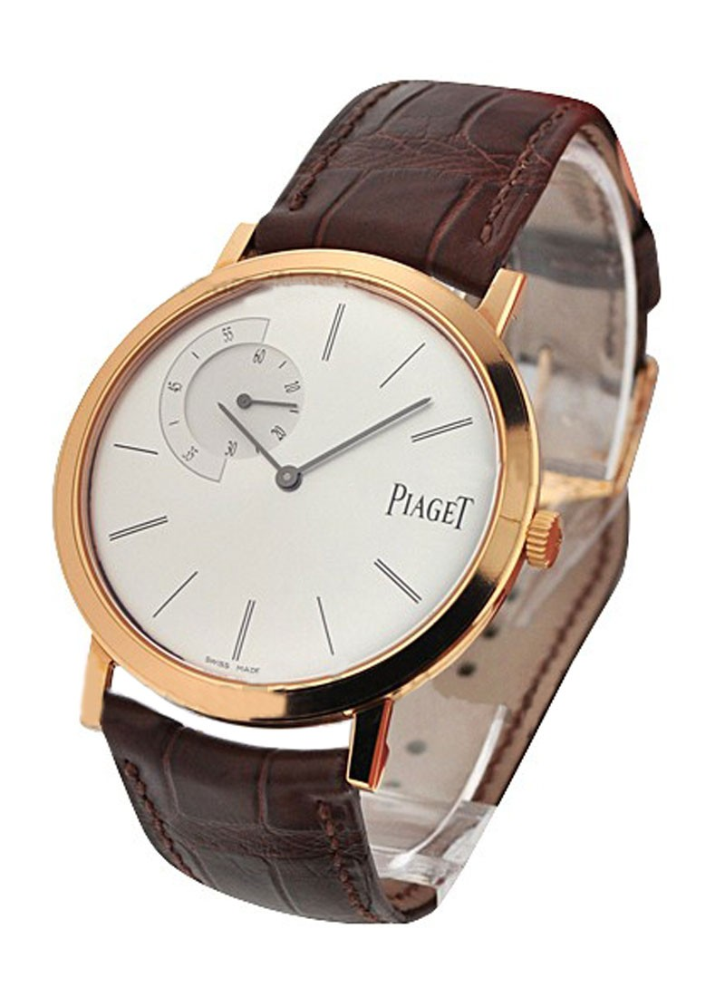 Piaget Altiplano Round Ultra Thin in Rose Gold