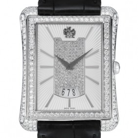 Piaget Black Tie Large Size with Diamond Case and Bezel