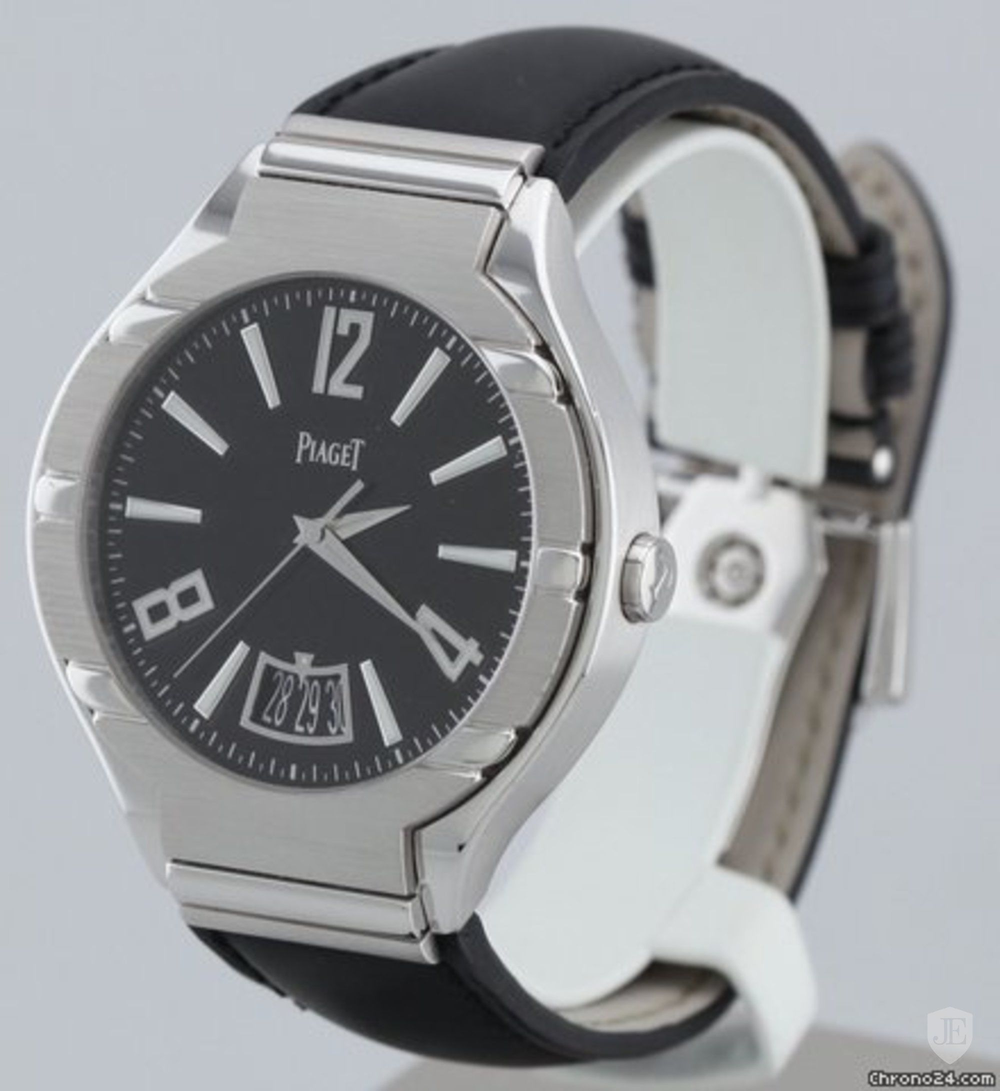 Piaget Polo Date Men's Automatic in White Gold