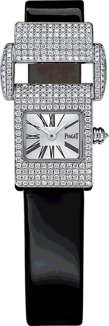 Piaget Miss Protocole Classic in White Gold with Diamond Bezel