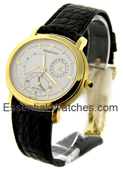Audemars Piguet MILLENARY 2-Time Zone Power Reserve in Yellow Gold