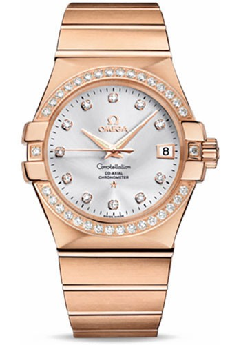 Omega Constellation Chronometer - Diamond Bezel