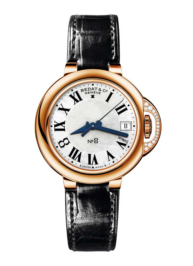 Bedat Bedat No. 8 in Rose Gold with Diamonds