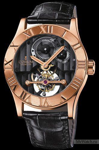 Corum Romvlvs Tourbillon in Rose Gold
