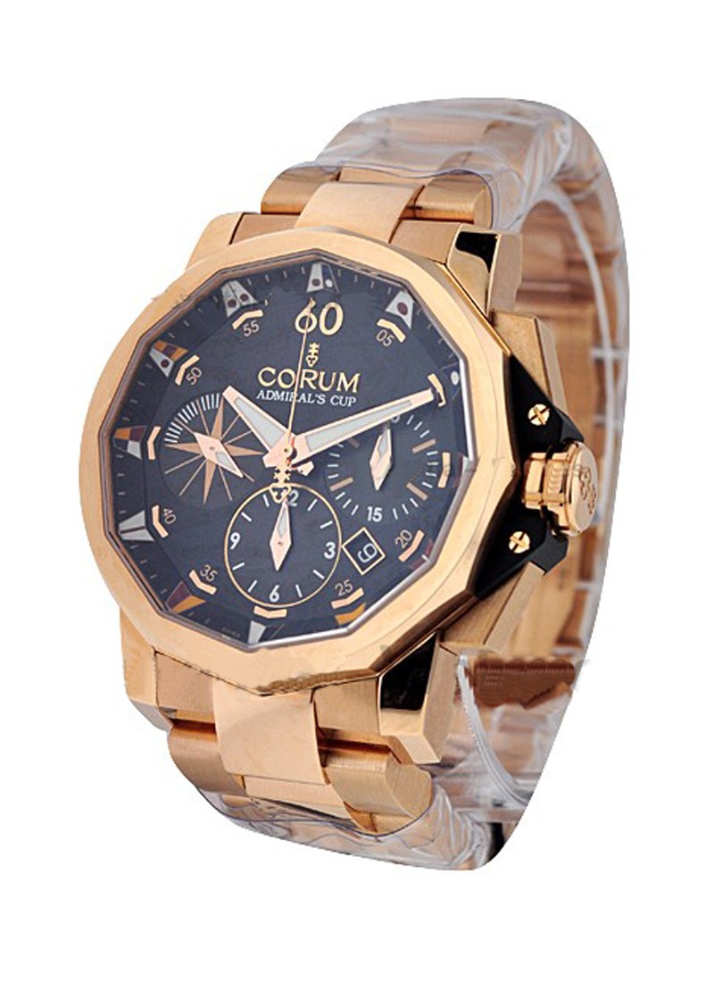 Corum Admiral's Cup Challenge 44mm Chronograph in Rose Gold