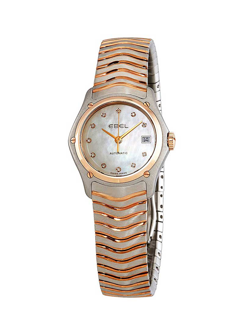 Ebel Classic Lady 27mm in Steel and Rose Gold Bezel