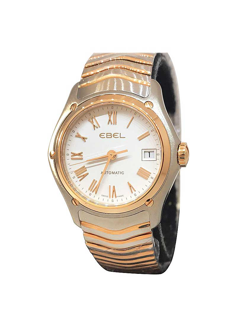 Ebel Classic Lady 27mm in Steel an Rose Gold Bezel