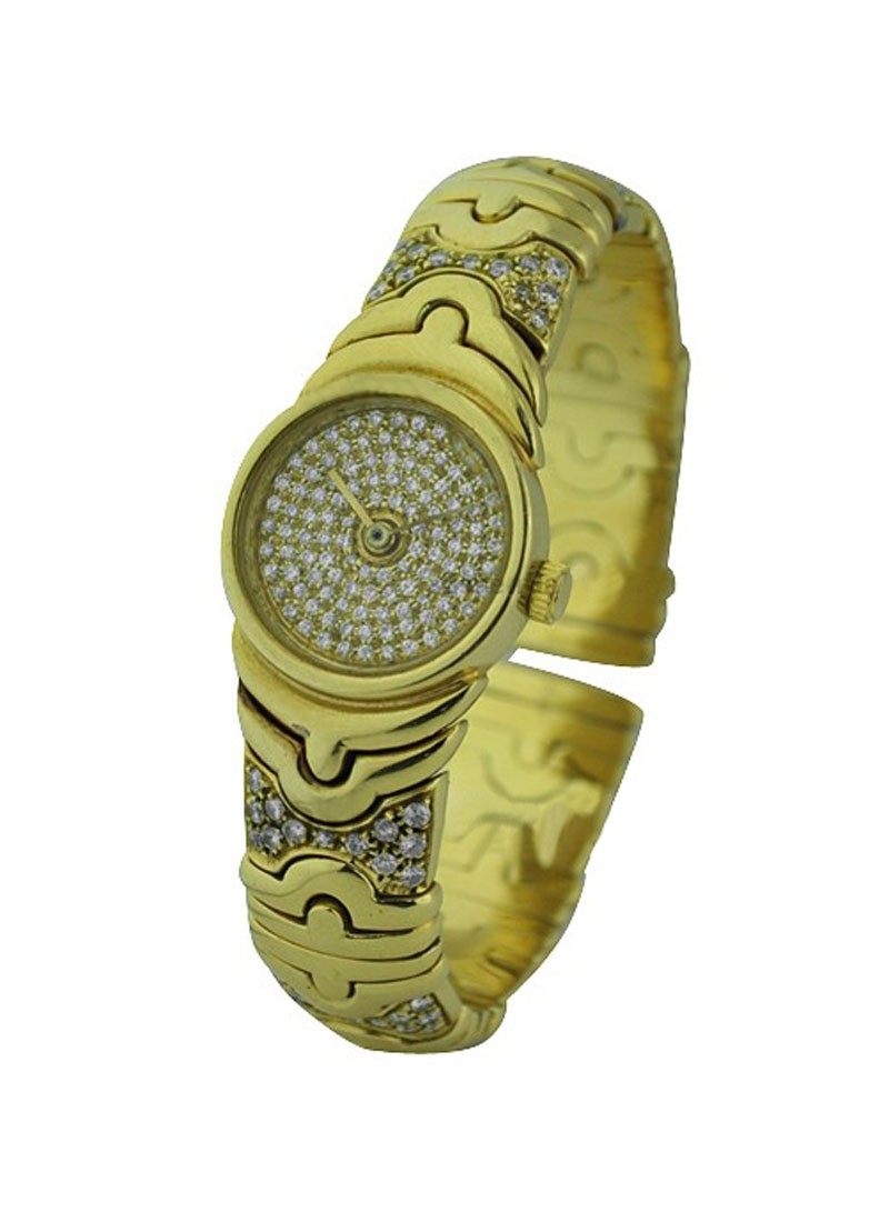 Bvlgari Parentesi Tubogas Bangle in Yellow Gold