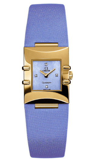 Omega Constellation Ladies Quadra in Yellow Gold