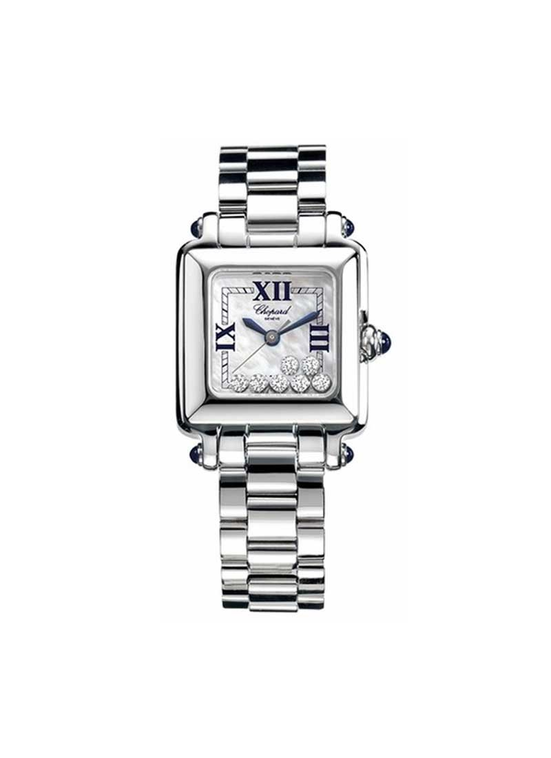 Chopard Happy Sport Square Ladies in Steel