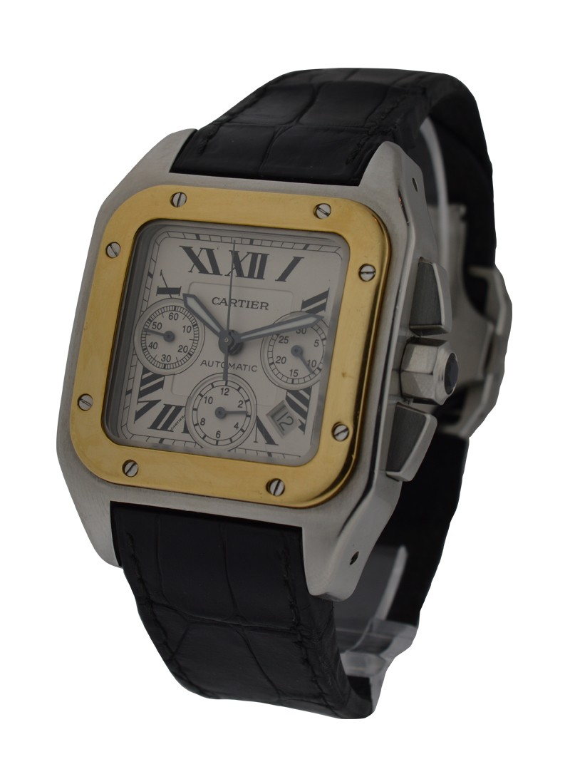 Cartier Santos 100 Chronograph XL