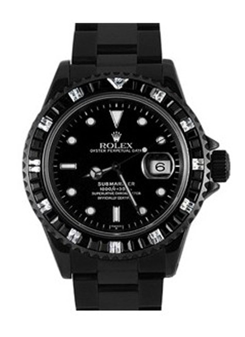 Rolex Used Oyster Perpetual Submariner Date   Sapphire Bezel