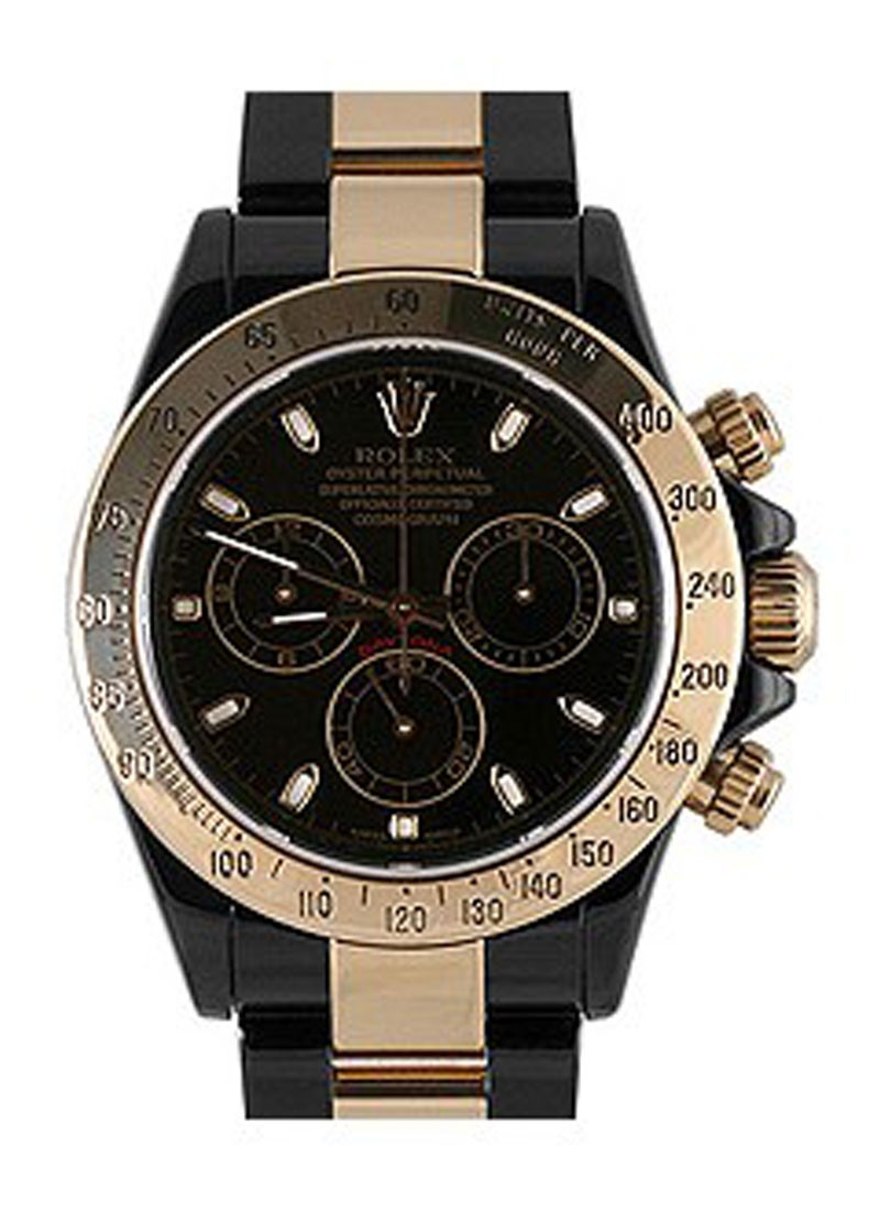 Rolex Used Daytona Black DLC Two Tone