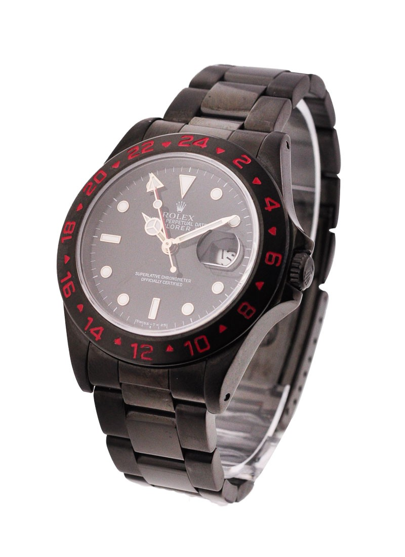 Rolex Used Explorer II with Red Bezel
