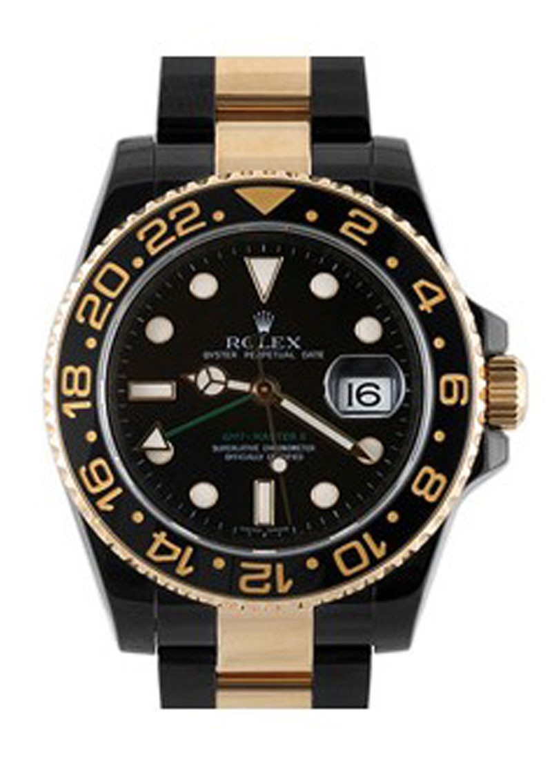 Rolex Used Oyster Perpetual GMT II Two Tone