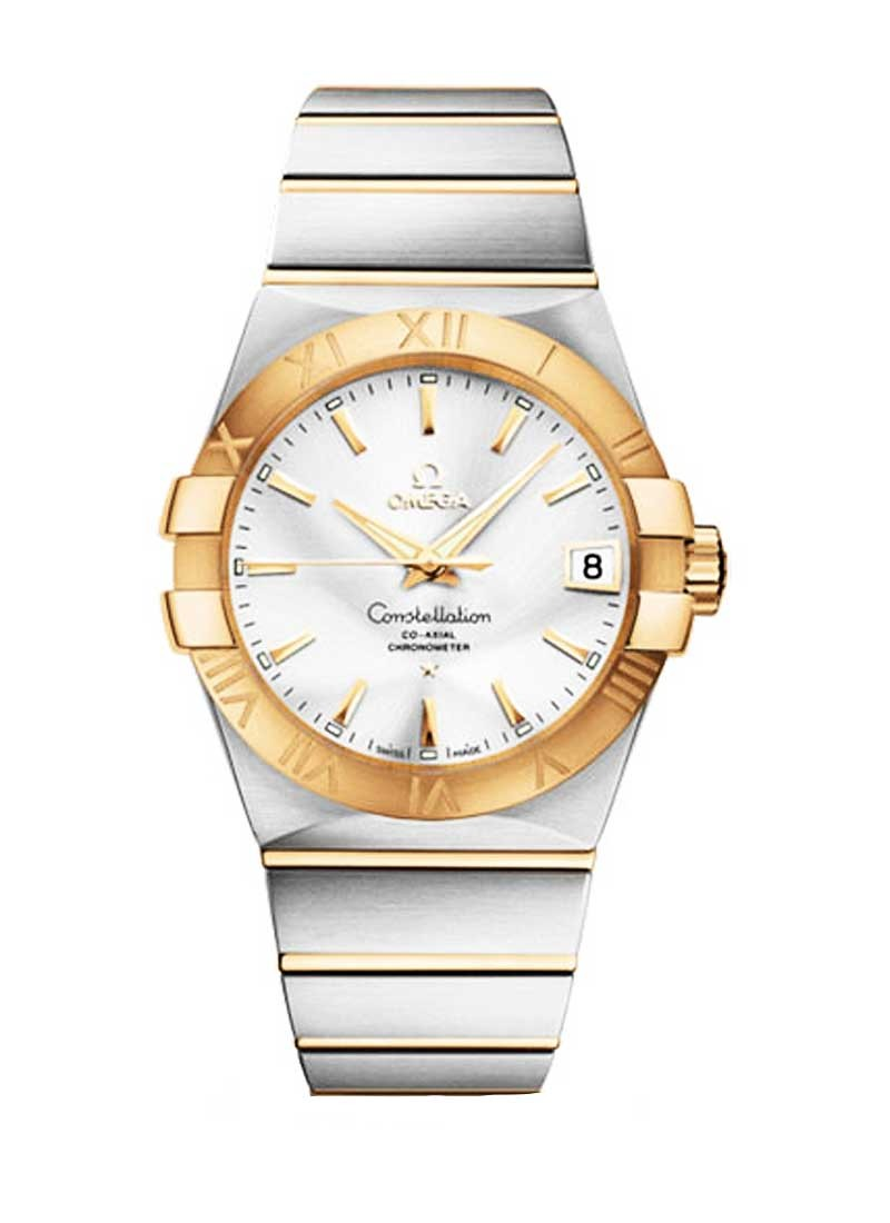 Omega Constellation 38mm in 2-Tone Steel