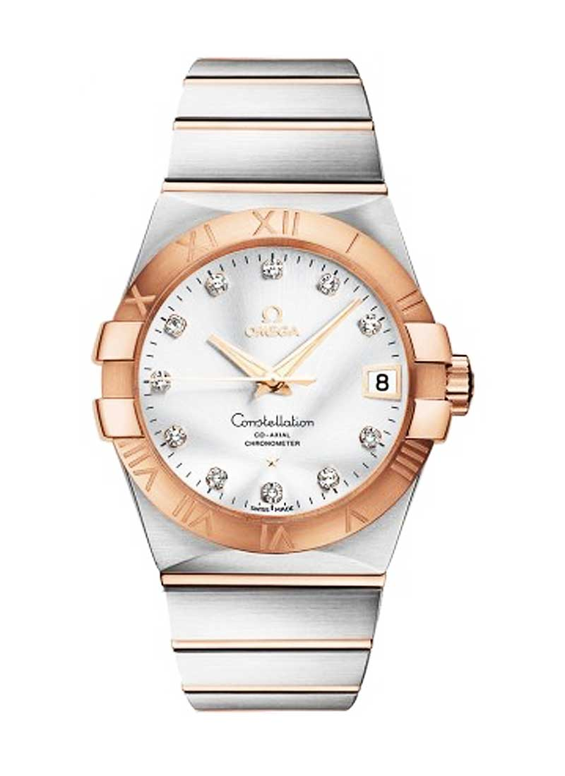 Omega Constellation Men's in 2-Tone