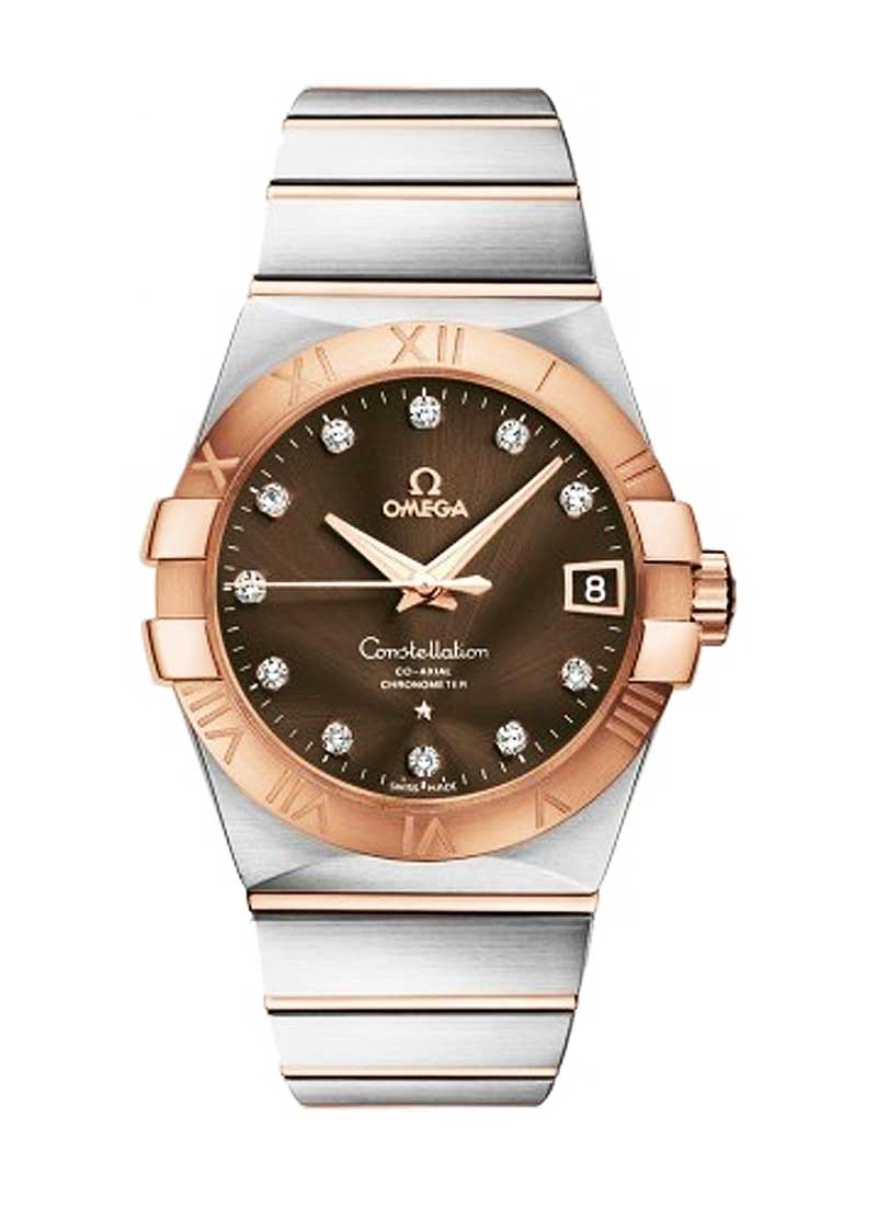 Omega Constellation Men's Automatic in 2-Tone