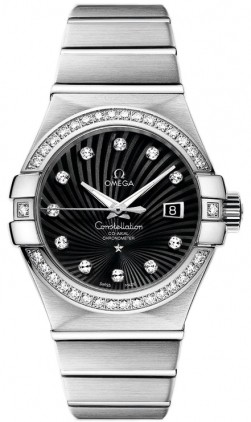 Omega Constellation Co-Axial Chronometer in White Gold
