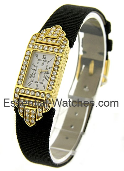 Audemars Piguet Charleston in Yellow Gold with Diamond Bezel
