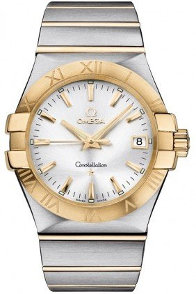 Omega Constellation Men's in 2 Tone