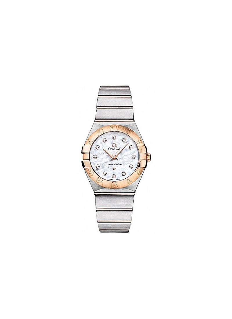 Omega Constellation 95 in Steel and Gold Bezel