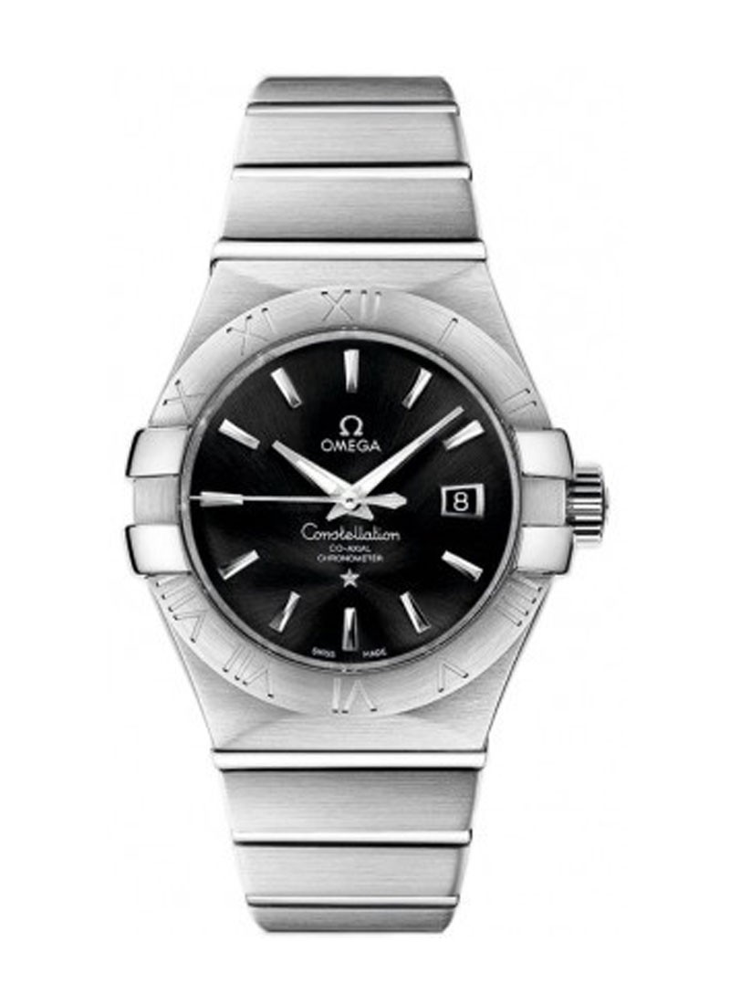 Omega Constellation Co Axial in Steel