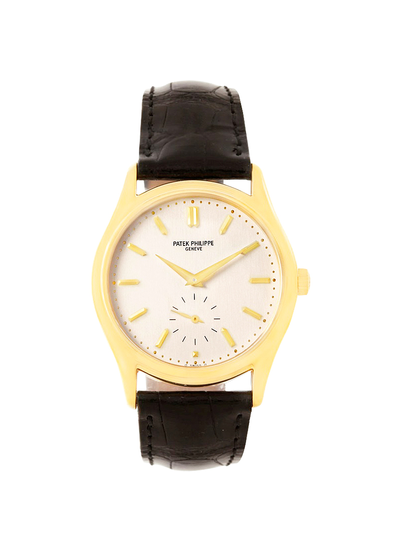 Patek Philippe 5023 Calatrava - circa 1999 in Yellow Gold