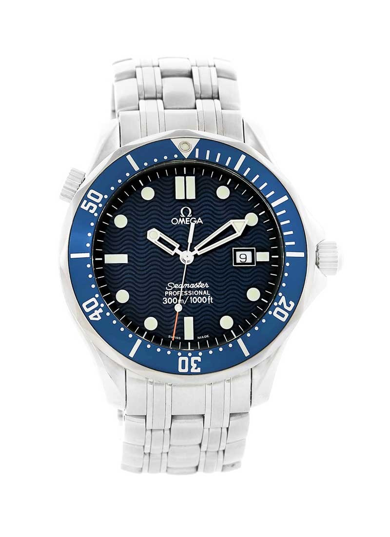 Omega Seamaster James Bond Quartz in Steel