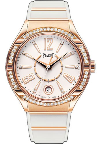 Piaget Polo Lady Forty Five with Diamond Bezel