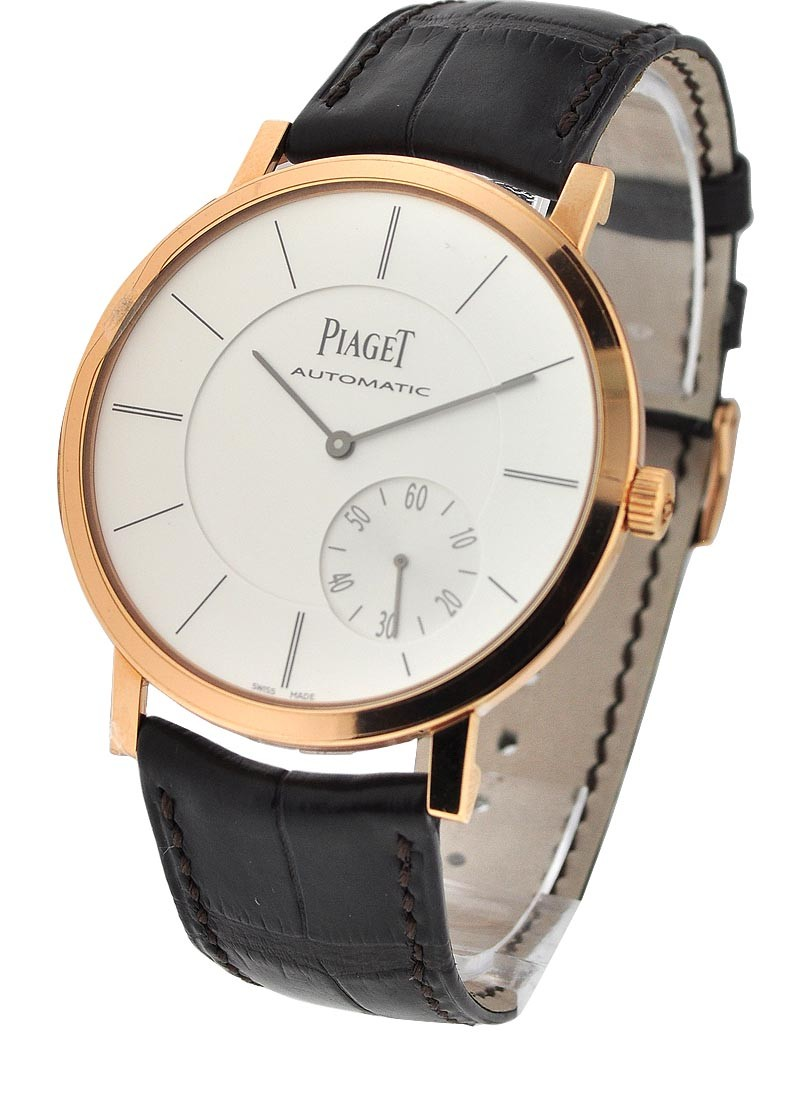 Piaget Altiplano Round 41mm  in Rose Gold
