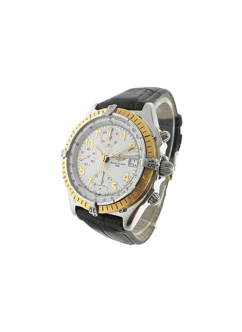 Breitling Chronomat 40mm Automatic in Steel and Yellow Gold Bezel