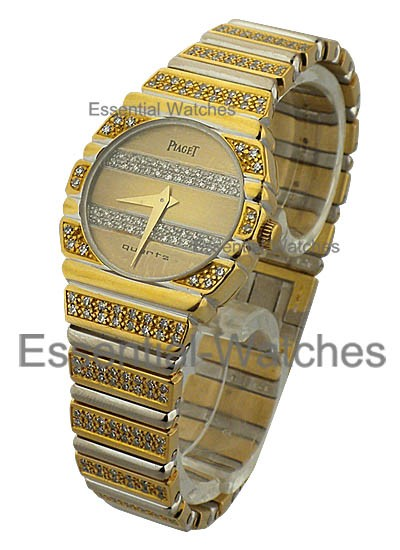 Piaget Polo Classic Lady's Two Tone with Diamonds